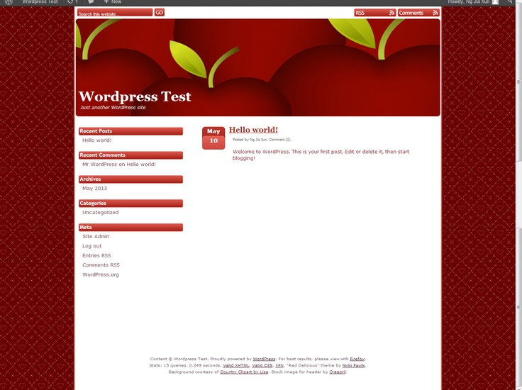 wordpress website design prices