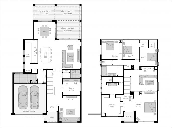 Metropolitan 40 Floor Plan – The Metropolitan 40 resonates grandeur on two storeys with design considerations typically reserved for one-off bespoke homes. This ACT design takes luxury to a whole new level with a Master Suite featuring a secluded balcony, spacious dressing room, elegant Ensuite and Built-In Desk. Find out more at http://www.mcdonaldjoneshomes.com.au/home-designs/metropolitan #floorplan #floorplans #luxuryhome#housedesigns #newhomes #homedesign #mcdonaldjoneshomes…