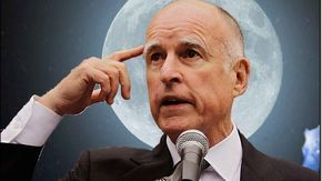 Gov. Moonbeam: Trump Building Wall to Trap Californians in America | Frontpage Mag