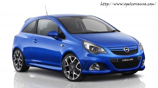 Opel Corsa OPC Models For 2013 Confirmed
