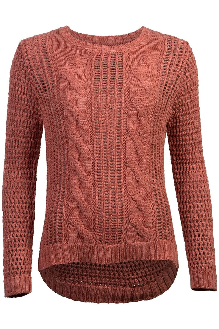 Lee Cooper Open Knit Pullover - BIG W
