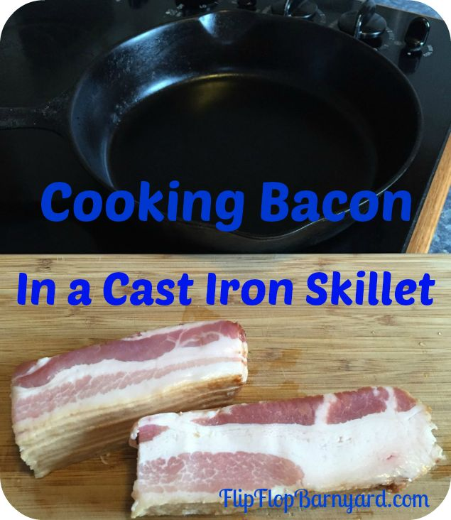 I love cooking in cast iron. I also love bacon. Put them together and….. perfection! Using a cast iron skillet to cook bacon seems to make the bacon just right. It also serves to season the cast iron pan. Its a win-win situation. A lot of people seem to be a little intimidated by cast...Read More »