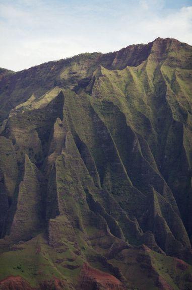 creases and folds.: Earth Crusts, Nature, Green, Awesome Place, Boats, Kauai Hawaii, Beauty, Landscape, Photo