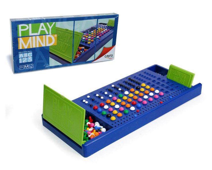 Diversión a lo grande, estimularás la inteligencia y la  lógica- educativa, la percepción visual y la concentración,  el juego consiste en adivinar a través de diferentes  jugadas el código secreto  que uno  de los jugadores  ha dispuesto en la zona reservada.