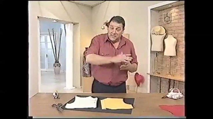CAMISA HOMBRE.                          .                                                         Puntos y Puntadas 420. 3ra parte. Camisa para hombre. Diferentes Cartera...