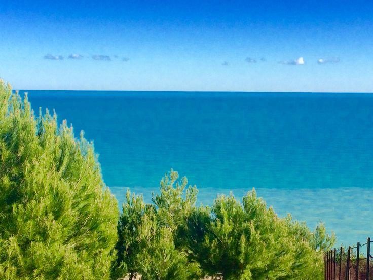 #beach #puntadeldiavolo