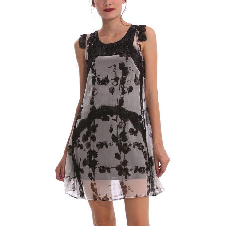Vestido primavera-verano Desigual 2014  99€ -15% 84,15€  #Spring #elplanetadelasmarcas.es #welovefashion #vestido #dress #casualstyle #desigual #wovdos #mujer