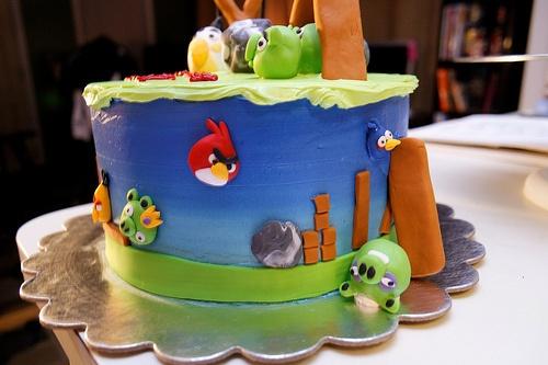 Yum: Birds Party, Bird Cakes, Cake Ideas, Angry Birds Cake, B Day Cake, Favorite Recipes, Angry Birds Birthday Cake, Birthday Cakes, Birthday Ideas