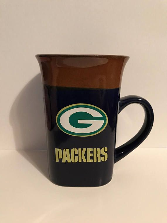 Nfl Green Bay Packers Coffee Mug Personalized Add Your Name I Can Make Pretty Much Anything On Any Item Write Me And Let Me Know Mugs Nfl Green Bay Green Bay