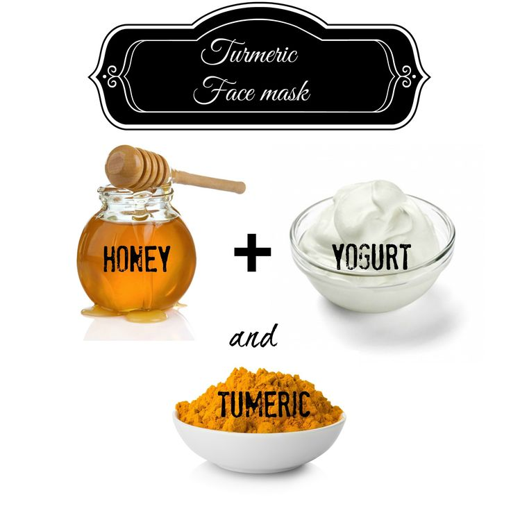 Glowing Skin with Turmeric Face Mask