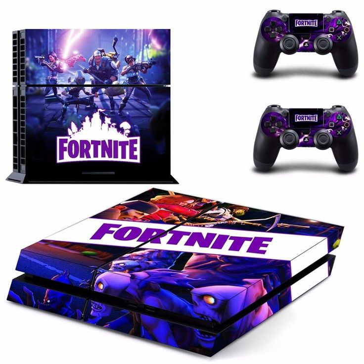 Fortnite Ps4 Skins Decal Cover Playstation 4 Console