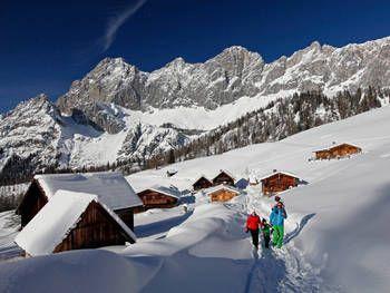 Winterwandern und Schneeschuhtouren in Ramsau am Dachstein Österreichs Wanderdörfer Steiermark Österreich