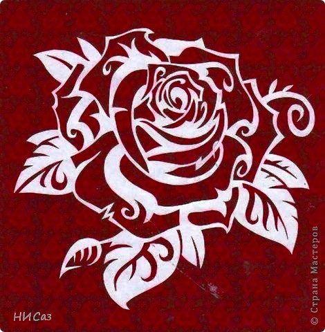 роза - Схемы вышивки - kravec_nm1971nik - Авторы - Портал «Вышивка крестом»