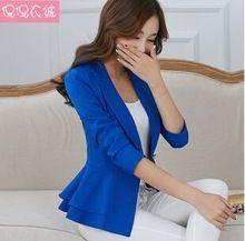 2016 otoño cueca casual blusas femininas chaquetas mujeres del diseño corto delgado chaquetas de traje de oficina de las mujeres ropa de abrigo vestidos Y80(China (Mainland))