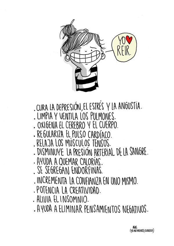 Yo, reir -Agustina Guerrero-