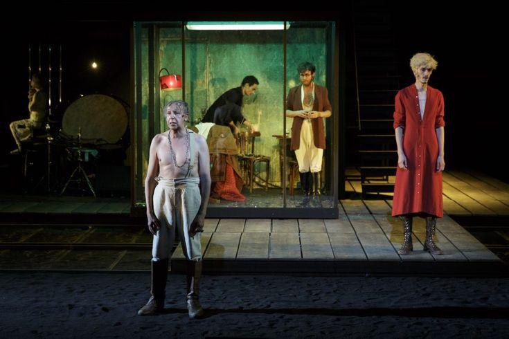 Karamazov d'après Dostoïevski, mise en scène de Jean Bellorini © Christophe Raynaud de Lage - Festival dAvignon - Une critique de René Solis dans délibéré