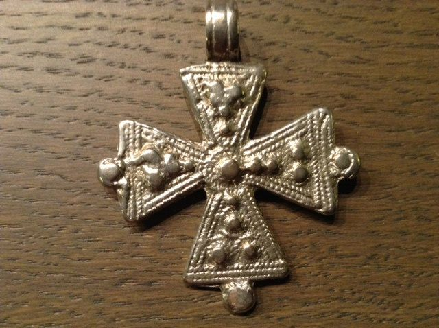 Ethiopian Coptic Cross, Solomonic/Shoa design. silver,Lost wax system. Authentic, old/antique 1920s Boho jewelry. Horn of Africa jewelry by Shebastreasures650 on Etsy
