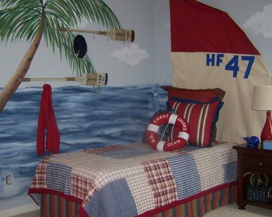 "boy's ocean bedroom""  ""Boys room"""