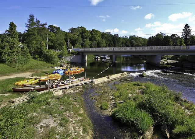 By -dangler    Canoeing/Kayaking/Paddle boating at Sauble Falls