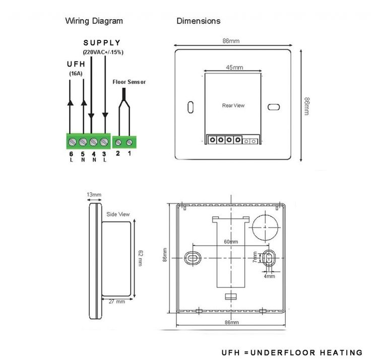 f25428ac3f6b1a0208b2eaacf392d664 100 [ underfloor heating wiring diagrams ] rayburn cookers underfloor heating thermostat wiring diagram at gsmx.co