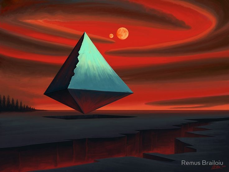 """Moon Pyramid"" Photographic Prints by Remus Brailoiu 