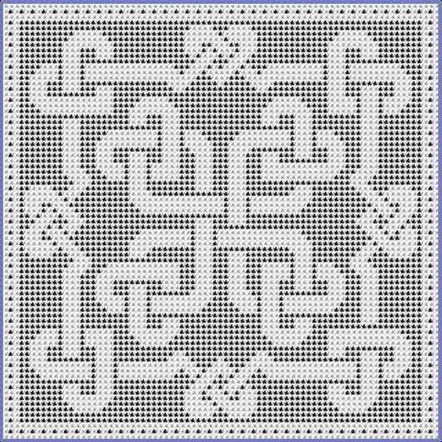Celtic Knot Knitting Chart : Best images about celtic design crochet on pinterest