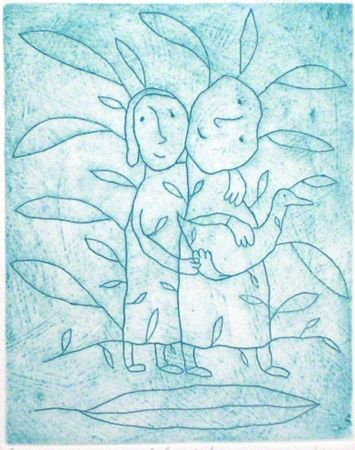 Family portrait by Michael Leunig