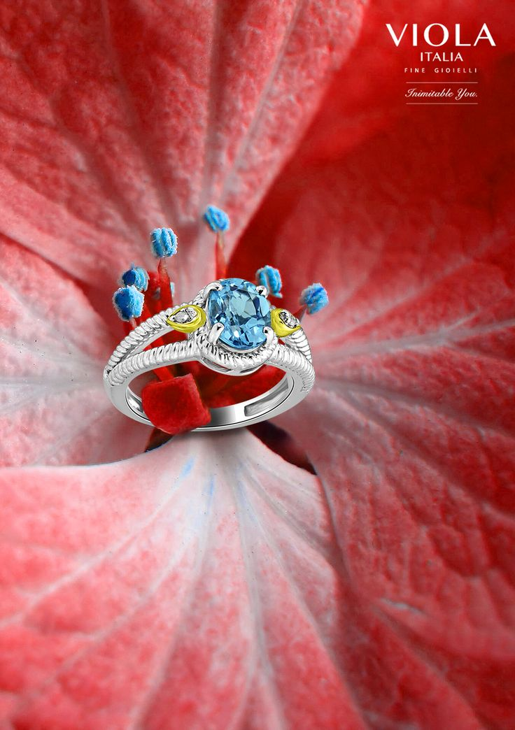 Blue washes away the anxiety with its calming effects. The Topaz wrapped in silver does the same. #Topaz #Jewellery #Nature #Photography #Love #Flower #Blooming #Calming #Sliver #Gemstones