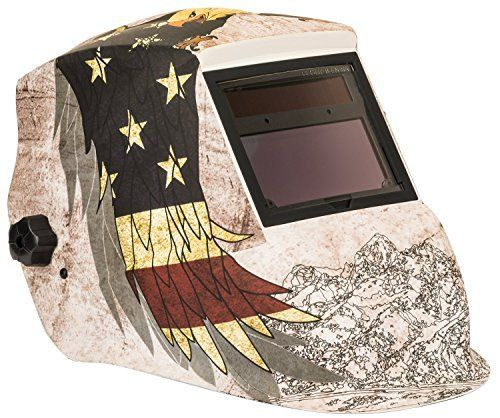 """Forney Advantage Series Patriot Auto-darkening Welding Helmet.       Famous Words of Inspiration...""""There's a lot of people in this world who spend so much time watching their health that they haven't the time to enjoy it.""""   Josh Billings —..."""