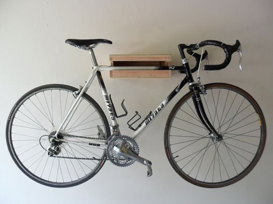5 handmade bike shelves u0026 racks for small spaces