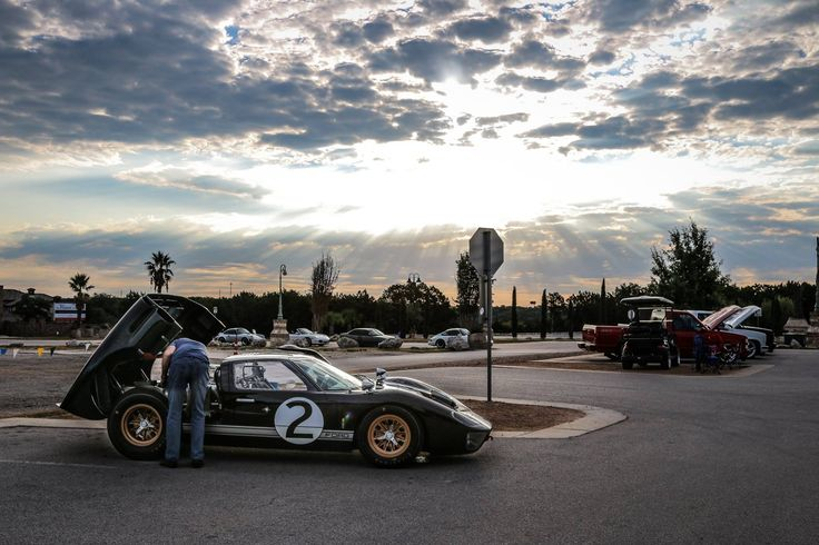 Ford GT40 MKII with Texas sunrise. Shot on Canon 70D w/ 24-105mm