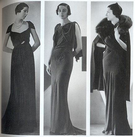 Fashion of 30s. Мода 30х.