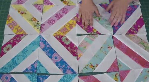 Quilt Patterns Using Strips Of Fabric : Sew a Summer-in-the-Park Quilt Using Fabric Strips + 6 More Strip Quilting Projects Quilt ...