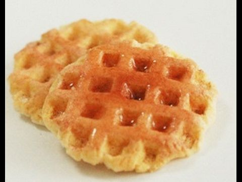 waffle in fimo