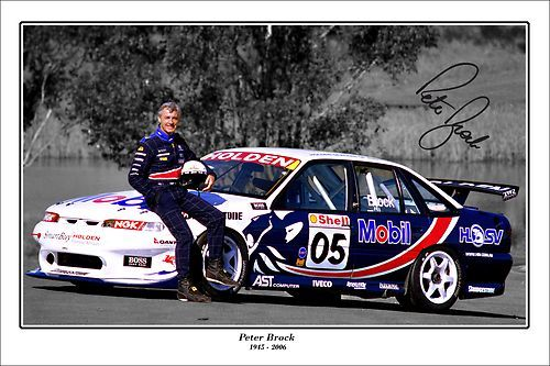 the late, great Peter Brock