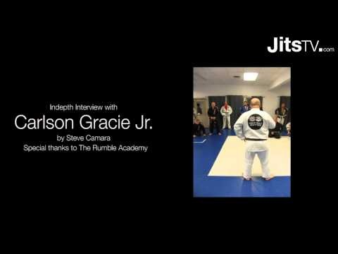 Indepth Carlson Gracie Jr. Interview PART 1 - Jits Magazine