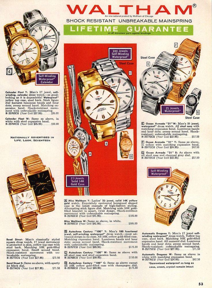 Waltham Watches Waltham Watch Waltham Time Keeper