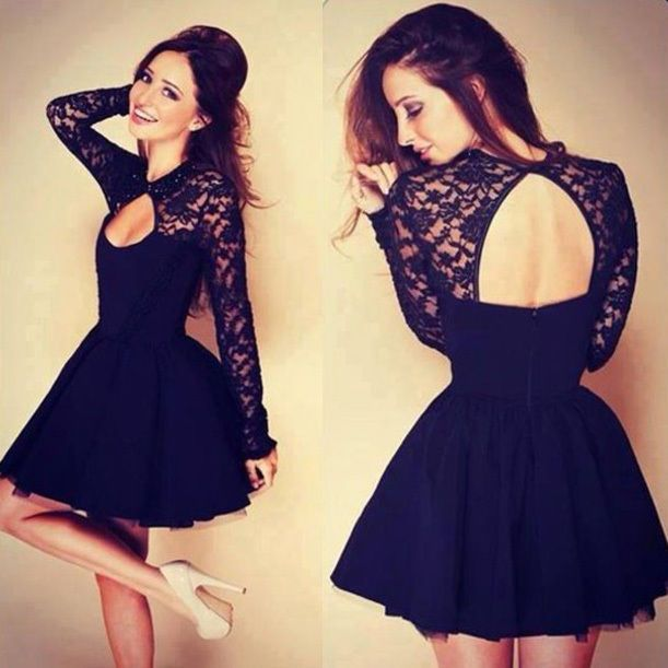 491b4023a8f9 Womens Lace Backless Long Sleeve Cocktail Mini Dress Bandage Bodycon Sexy  Party #Unbranded #BallGown #Cocktail | ebay | Dresses, Prom dresses, Formal  ...