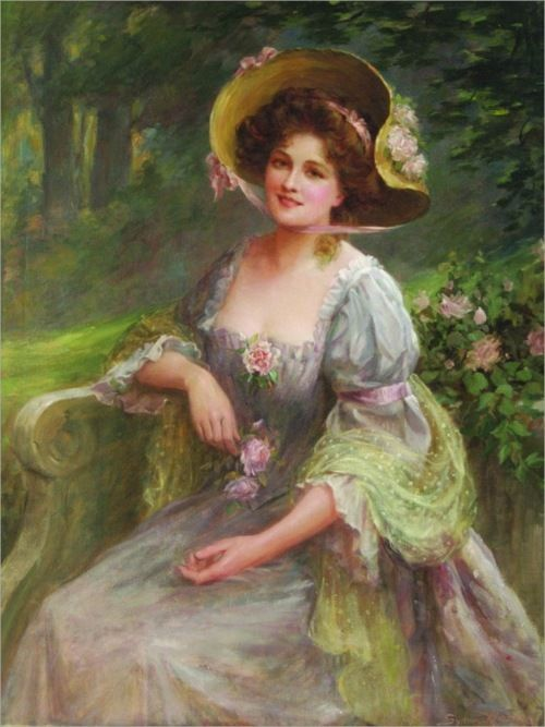 """""""A Summer Afternoon"""" by Sidney Percy Kendrick"""