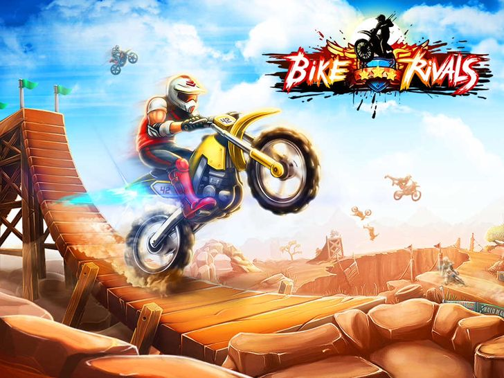 Bike Rivals App by MiniClip