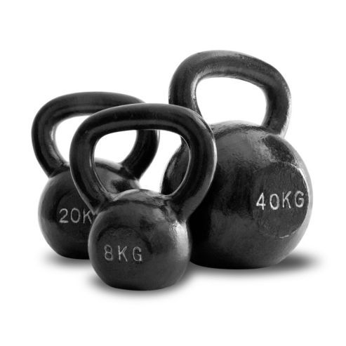 Bodymax 8kg Kettlebell Cast Iron £14.99 from tesco