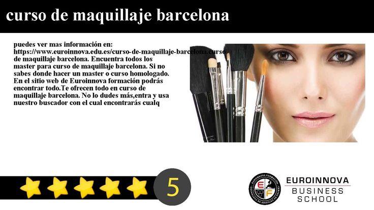 curso de maquillaje barcelona - puedes ver mas información en: https://www.euroinnova.edu.es/curso-de-maquillaje-barcelona.    curso de maquillaje barcelona. Encuentra todos los master para curso de maquillaje barcelona. Si no sabes donde hacer un master o curso homologado. En el sitio web de Euroinnova formación podrás encontrar todo.    Te ofrecen todo en curso de maquillaje barcelona. No lo dudes másentra y usa nuestro buscador con el cual encontrarás cualquier curso o master sobre curso…