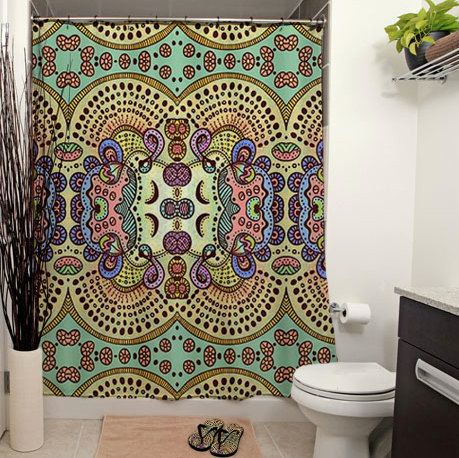 345 best Shower Curtains - Arts & Craft style, & other Totally ...