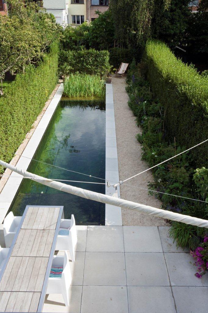 Bart & Pieter | Tuinarchitectuur - tuin met zwemvijver