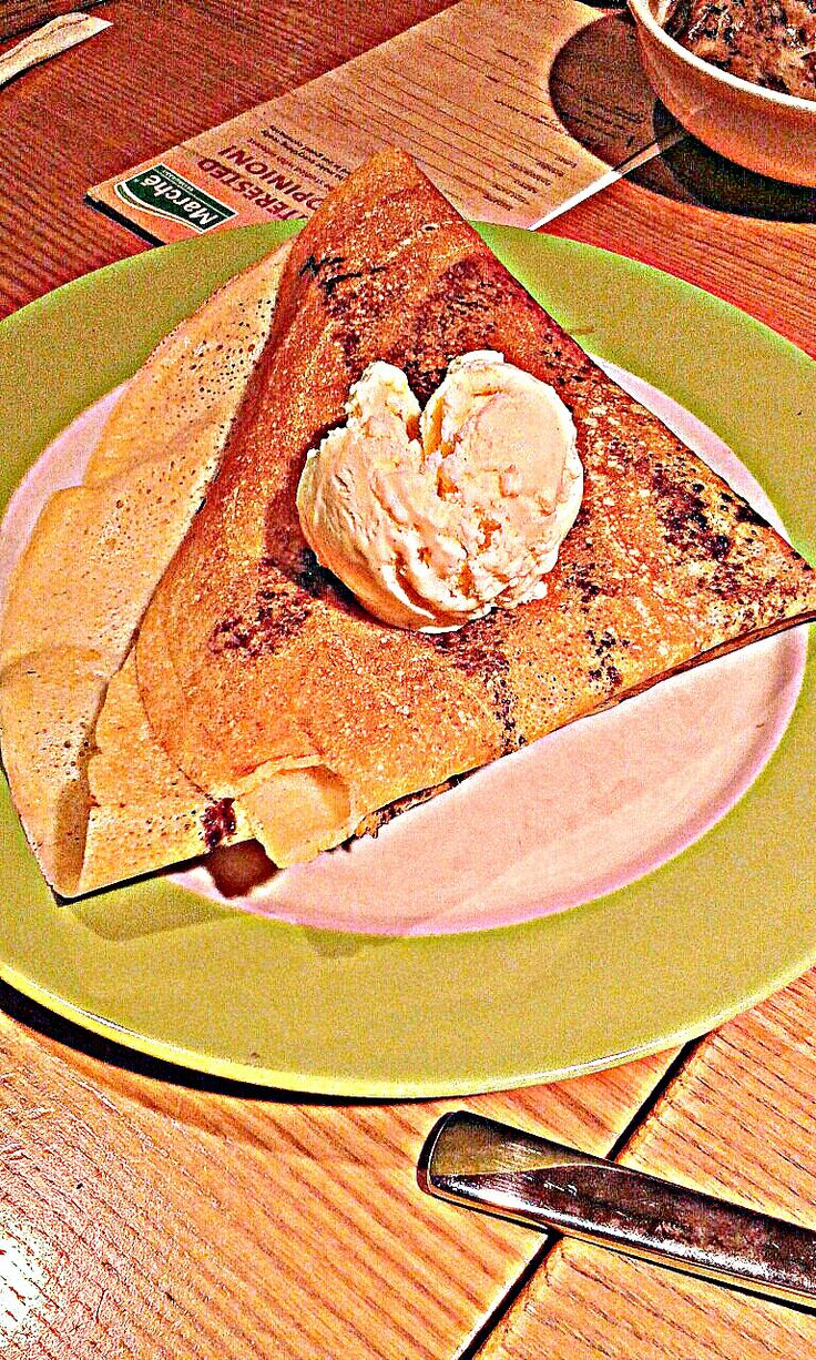 Sinful Banana Crepe. -- Marche, Singapore