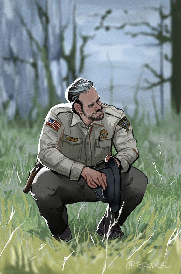 """€�you Ever Feel Cursed?"""" (chief Jim Hopper From Stranger Things) Boy He  Ripped My Heart Out In That Scene No Wonder He Felt Cursed"""