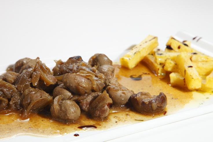 Riñones de Lechazo de Castilla y León guisados con patatas  www.restaurantecasalucio.com
