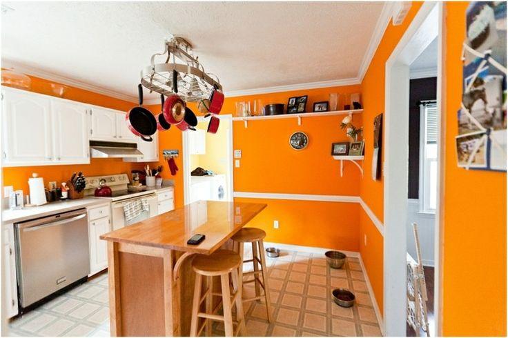 Murs orange