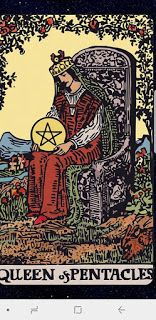 Rob Gutro's Ghosts and Spirits Blog: Joy Andreasen's Tarot Tuesday: Queen of Pentacles  http://ghostsandspiritsinsights.blogspot.com/2017/10/joy-andreasens-tarot-tuesday-queen-of.html
