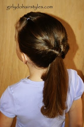 Girly Do's By Jenn: One Flip into a flipped ponytail | Ponytail hairstyles, Hair dos, Hair